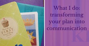 Transforming your plan into communication blog header