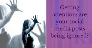 Attention social media headlines