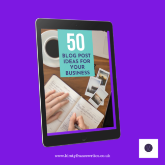 50 blog post ideas shop image