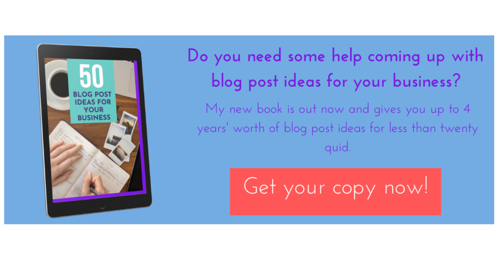 50 blog post ideas for your business (if you're not ready to outsource)